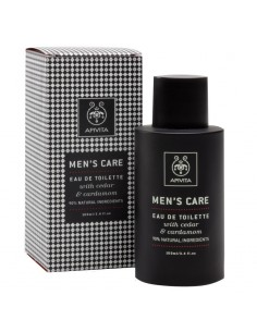 Apivita Man's care Eau De Toilette with Cardamom and propolis