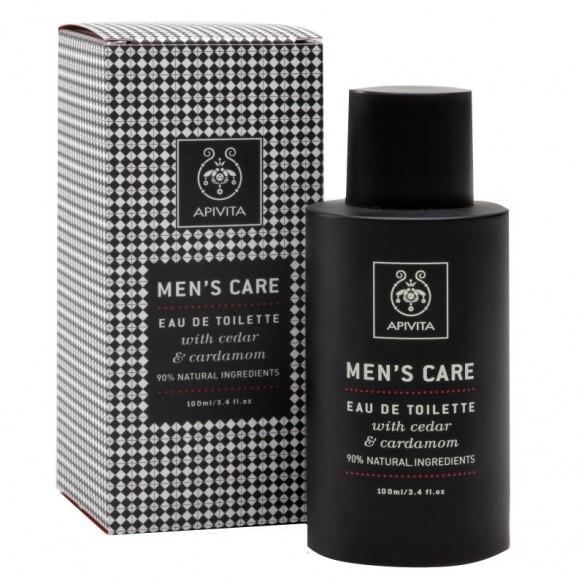 Apivita Man's care Eau De Toilette with Cardamom and propolis