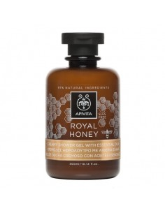 Apivita ROYAL HONEY creamy shower gel with essential oils