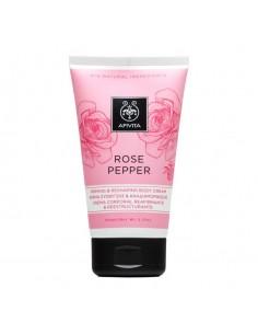 Apivita ROSE PEPPER firming & reshaping body cream