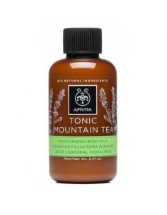Apivita TONIC MOUNTAIN TEA Moisturizing Body Milk