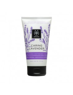 Apivita CARING LAVENDER moisturizing & soothing body cream