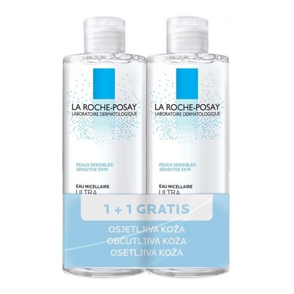 La Roche-Posay Micelarna voda ULTRA osjetljiva koža 1+1 GRATIS