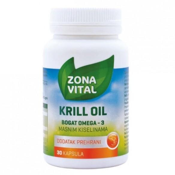 Zona Vital Antartic Neptune Krill Oil NKO kapsule