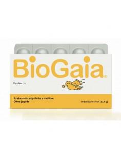 BioGaia Protectis tablete za žvakanje okus jagode