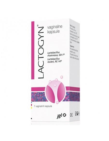 Lactogyn vaginalne kapsule
