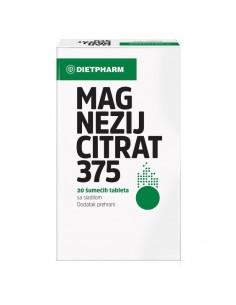 Dietpharm Magnezij Citrat 375 šumeće tablete