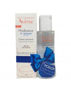 Avene Hydrance UV Riche krema SPF 30 - Micelarni losion 100 ml GRATIS