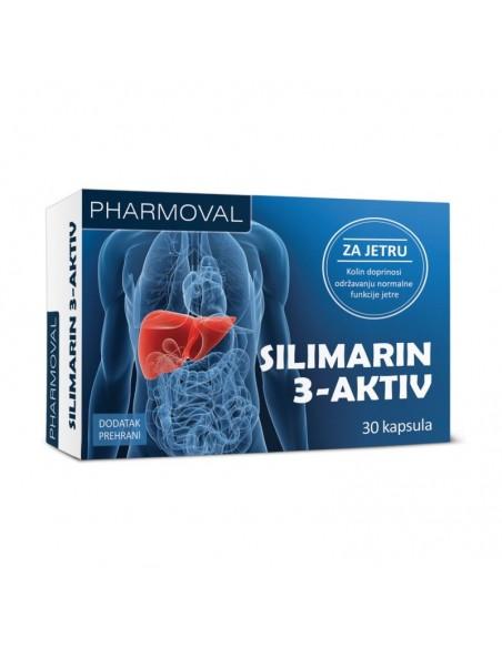 Pharmoval Silimarin 3 aktiv kapsule