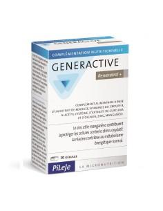 PiLeje Generactive resveratrol+ kapsule