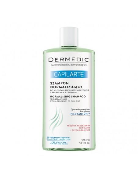 Dermedic Capilarte Šampon za masnu kosu sklonu ispadanju