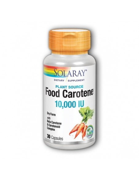 Solaray Food Carotene kapsule