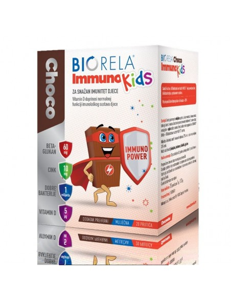 Biorela Immuno Kids čokoladice