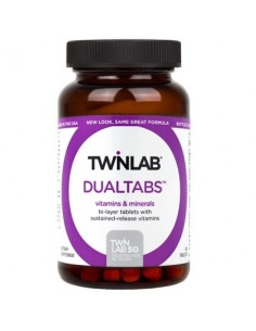 Twinlab Dualtabs multivitamini s mineralima tablete