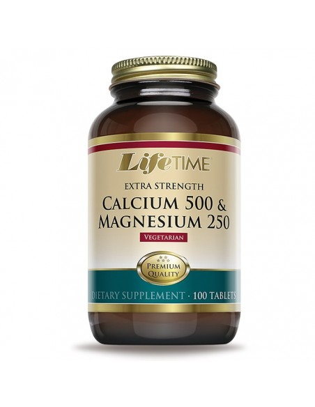 LifeTime Kalcij 500 i Magnezij 250 tablete