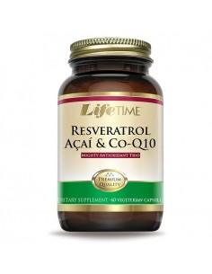 LifeTime Resveratrol, Acai i CoQ10 kapsule