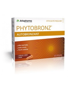 Arkopharma Phytobronz Samotamnjenje kapsule