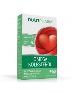 Nutripharm Omega kolesterol kapsule