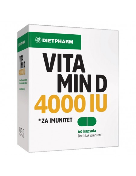 Dietpharm Vitamin D 4000 IU kapsule