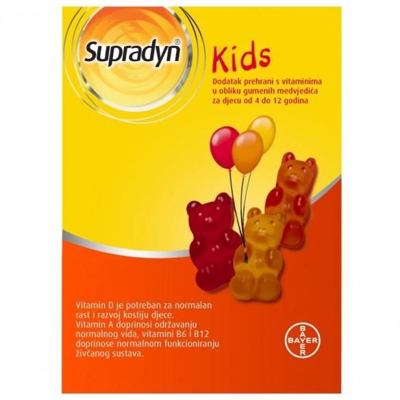 Supradyn Kids gumeni medvjedići
