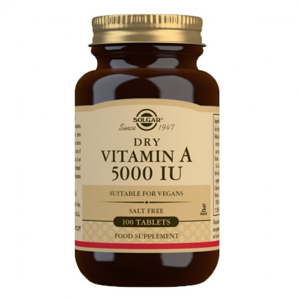 Solgar Vitamin A tablete