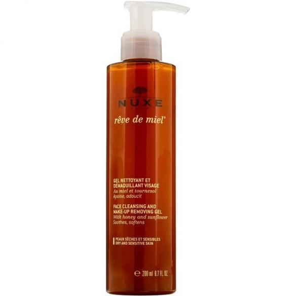 Nuxe Reve de Miel Gel za čišćenje lica i uklanjanje šminke