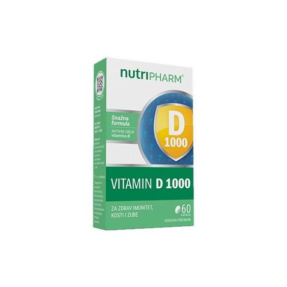Nutripharm Vitamin D 1000