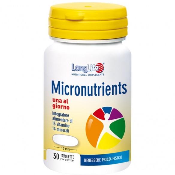 LongLife Micronutrients tablete