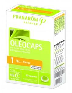 Pranarom Oleocaps 1 nos i grlo