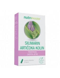 Nutripharm Silimarin Artičoka Kolin