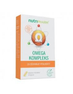 Nutripharm Omega kompleks kapsule