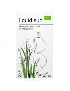 Liquid Sun - mlada zelena pšenica prah