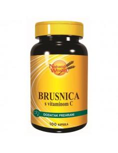 Natural Wealth Brusnica s vitaminom C kapsule