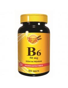Natural Wealth Vitamin B6 tablete