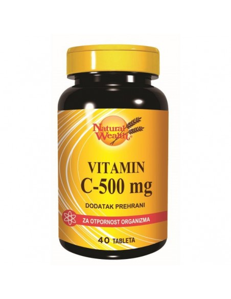 Natural Wealth Vitamin C 500 tablete