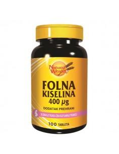Natural Wealth Folna kiselina tablete
