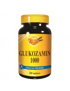 Natural Wealth Glukozamin sulfat kapsule