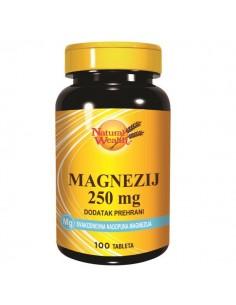 Natural Wealth Magnezij 250 mg tablete