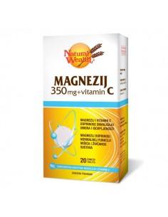 Natural Wealth Magnezij 350 mg i vitamin C šumeće tablete