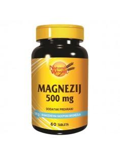 Natural Wealth Magnezij 500 mg tablete