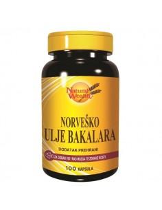 Natural Wealth Norveško ulje bakalara kapsule