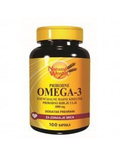 Natural Wealth Omega 3 kapsule