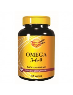 Natural Wealth Omega 3-6-9 kapsule