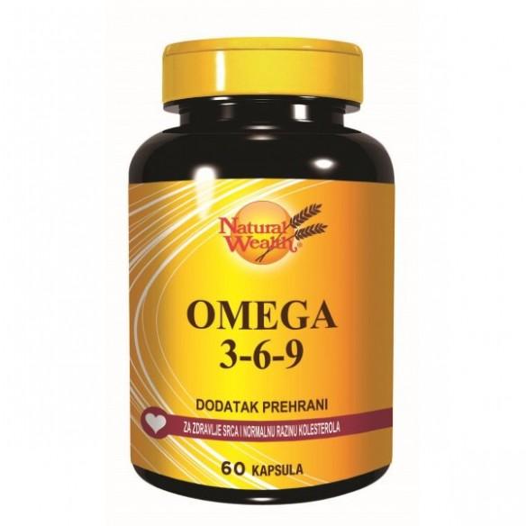 Natural Wealth Omega 3-6-9 kapsule