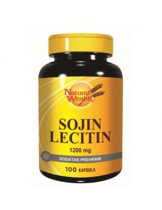 Natural Wealth Sojin lecitin 1200 mg kapsule