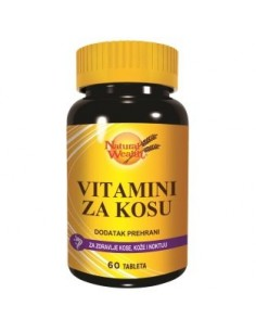 Natural Wealth Vitamini za kosu tablete