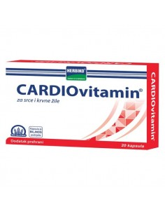 Herbiko Cardiovitamin kapsule