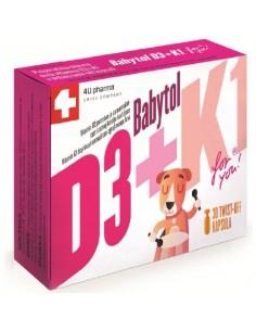 Babytol D3+K1 for you twist off kapsule