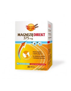 Natural Wealth Magnezij direkt 375 mg + B + C