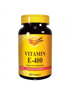 Natural Wealth Vitamin E-400 kapsule